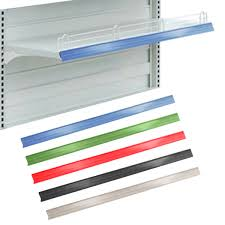 colored stripes for channels pchs 48 010 custom color channel shelf strips for retail display