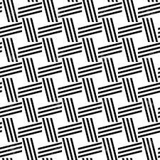 Line Pattern Design Blakc And White Repeating Line Pattern Design