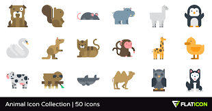 Animal Icon Animal Icon Collection 50 Premium Icons Svg Eps Psd Png