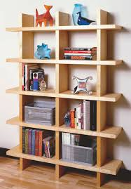 Woodworking Bookshelf Designs Aw Extra Contemporary Bookcase Popular Woodworking Magazine