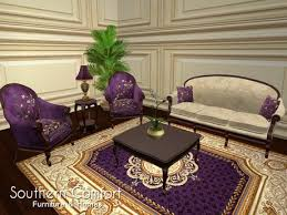 Small Picture Second Life Marketplace Livingroom Antique Purple Southern
