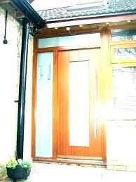 contemporary solid wood front doors wooden door modern exterior