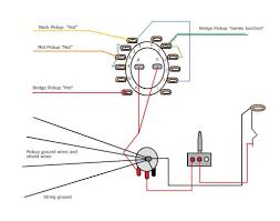 ssh 6 position 4 pole rotary switch help guitarnutz 2 you will have to correlate your wire colors to the diagram and also see which coil of the bridge hb you want to split the wiring change if you need