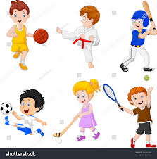 hobbies for kids. kids engaged in different hobbies for