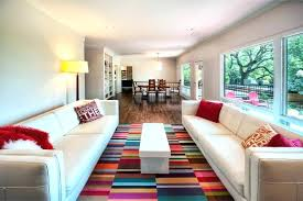 living room area rugs dazzng in ving modern with rug on bright colored sod color inside