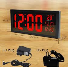 Orologio da parete digitale acquista a poco prezzo orologio da