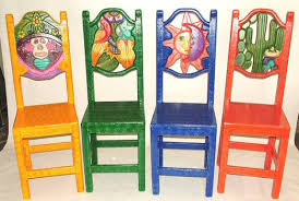 painted mexican furnitureEquipal Furniture Equipale Carved Painted Furniture