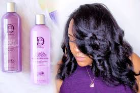 how to slay your silk press on natural hair without heat damage using the design essentials