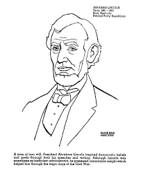 abraham lincoln coloring sheets post abraham lincoln coloring pages free