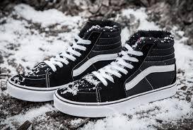 vans with fur. vans sk8 hi sneakers for cheap black suede fur inner sk8-hi winter skate with d