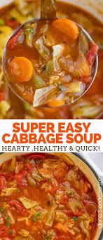 Sep 21, 2015 · comforting cabbage roll soup recipe. Cabbage Soup Dinner Then Dessert