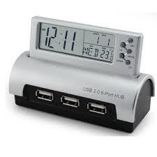 Avon Alarm Clock With Memo Board