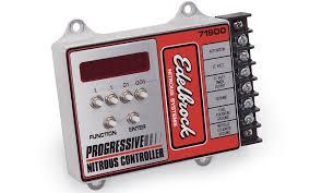 nitrous systems nitrous electrical components edelbrock llc progressive nitrous controller 71900