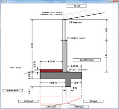 Small Picture Cantilever Retaining Wall Design Example crowdbuild for