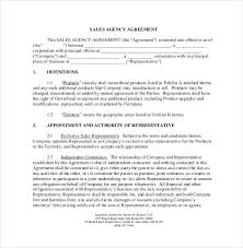 Independent Contractor Agreement Template Commission Contract Rome Fontanacountryinn Com