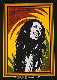 Bob Marley Wall Tapestry Hippie Poster Rasta Indian Wall Hanging Bohemian Lion Dorm Room Decoration