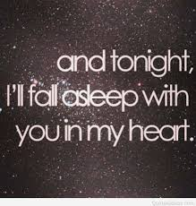 heart broken fall asleep quote hd
