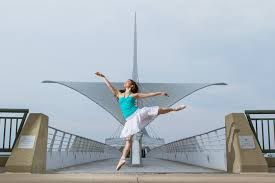 erica wong from the milwaukee ballet out of the studio