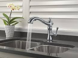 delta cassidy kitchen faucet. Delta 4197 Ar Dst Cassidy Single Handle Pull Out Kitchen Faucet With Regard To Decorating C