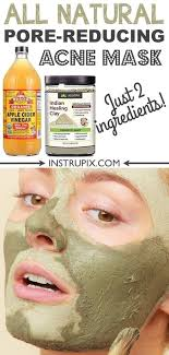homemade face mask for acne blackheads and large pores it s great for oily and dry