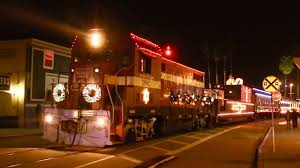 Holiday Lights Train Santa Cruz Holiday Lights Train