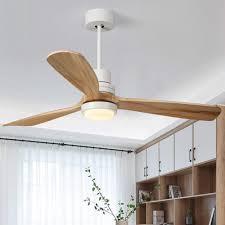 Jade 52 Zoll Deckenventilator Helle Deckenlampe Zu Hause Abs Holz