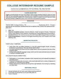 6 7 Resume Objectives For College Students Knowinglost Com