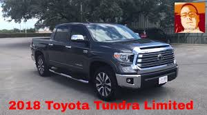 2018 Toyota Tundra Crewmax Limited Full Walk Around Video - YouTube