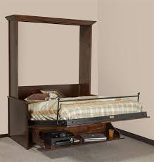 murphy wall bed and desk amish from dutchcrafters intended for plan murphy bed desk plans34 bed