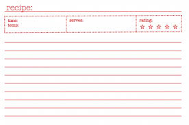 Printable Recipe Cards That You Can Type On Download Them Or Print