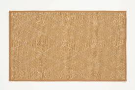 shining straw outdoor rug 5x8 tribal patterned with granola narrow cotton