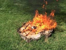 Best 25 Diy Gas Fire Pit Ideas On Pinterest  Wine Barrel Fire Can I Build A Fire Pit In My Backyard