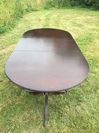 Vintage Extendable Dining Table Project Large Vintage Extendable Dining Table With Claw Feet For