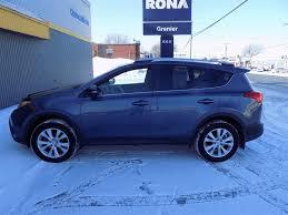 Used 2013 Toyota RAV4 Limited TOIT OUVRANT, CUIR, CAMÉRA Bleu ...