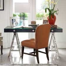 mason wood top desk ebony