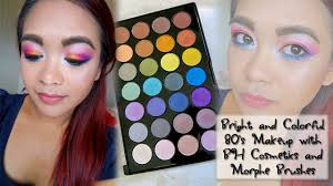 bright colorful makeup tutorial cosmetics foil eyeshadows first impressions jpg 1280x720 80s makeup tutorial