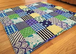 Best Non-Toxic Play Mat: Peppermint Pinwheels Quilted Play Mat ... & Peppermint Pinwheels non-toxic play mat review - patchwork quilt Adamdwight.com