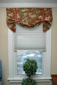 sightly kitchen small kitchen windows treatment ideas together with bay window valance kitchen charlotte by ludmila