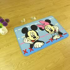 mickey mouse bathroom rug set