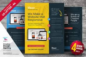 responsive flyer design photos graphics fonts themes templates creative design agency flyers