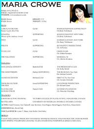 Actor Resume Template Best Child Actor Resume Letsdeliverco