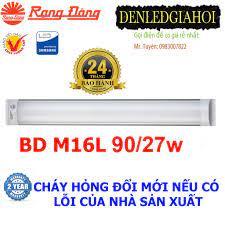Bộ đèn tuýp LED bán nguyệt 27W Rạng Đông , Model BD M16L 90/27w