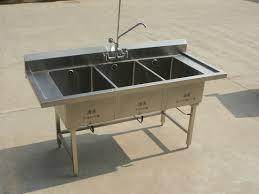kstb triple bowl kitchen
