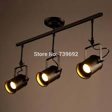 industrial track lighting systems. 2016 New Arrival American Vintage Industrial Track Lights Modern Brief  Creative 3 Heads Led Ceiling Lamps-in Ceiling Lights From \u0026 Lighting On Lighting Systems O