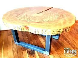 wood log coffee table wood log coffee table tree slice tables sliced log coffee table tree