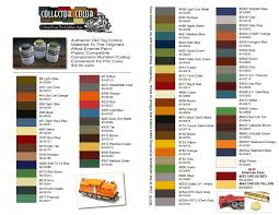 Collector Color Paint For Lionel Toy Train Restoration 1 2 Pint Can