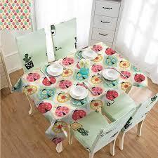 Rectangle Tables Wedding Reception Amazon Com Sllart Rectangle Table Cover Kids Ladybugs Retro