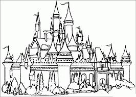 Tuyển tập tranh tô màu lâu đài rực rỡ cho bé thỏa sức khám phá