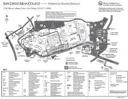 mesa college campus map  my blog