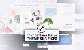 Betheme Web Design Avada Betheme Bridge Or Another Theme Bug Fixes By